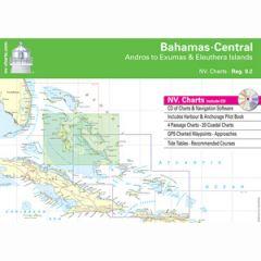 Bahamas Central Chart Reg. 9.2 w/Pilot Book, CD & App