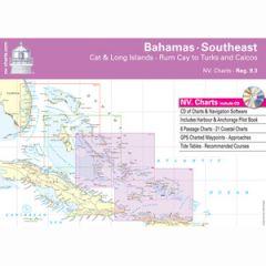 Bahamas Southeast Chart Reg. 9.3 w/Pilot Book, CD & App
