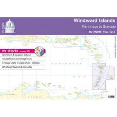 Windward Islands Chart Bundle Reg. 12.3 w/CD & App