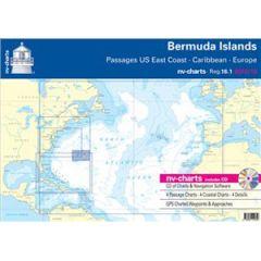Bermuda Islands Chart Bundle Reg. 16.1 w/CD & App