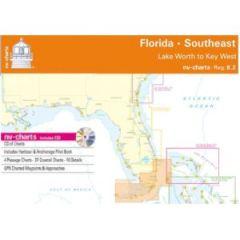 NV Charts East Florida; Paper, Digital & App Reg.8.2