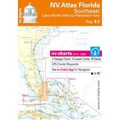 NV Charts Southeast Florida; Paper, Digital & App Reg.8.3