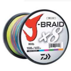 Line Daiwa J-Braid 8x 1,500M 120lb Multi Color
