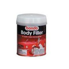 Bondo Body Filler w/Red Cream Hardener Tub 1 qt