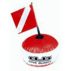 Diver Buoy Red & White