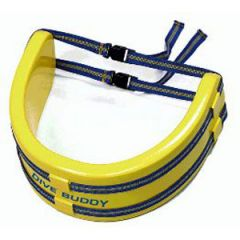 Water Ski Belt Neon Yellow LRG-XLRG