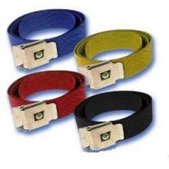 "Weight Belt w/Buckle Yellow 58"""
