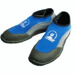 Booties Neoprene 2mm w/Rubber Sole Kids Blue/Grey 32-33