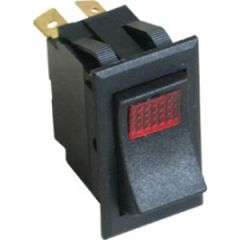 "On/Off Rocker Switch w/Light 1"" wide x 1.75"" high"