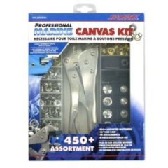 Canvas Snap Kit Set 450 Pieces w/Tools