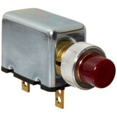 12V, Warning alarm with red light