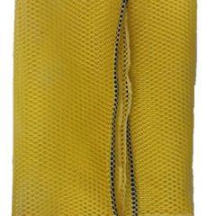 Mesh Draw Bag Med 18X30 Yellow