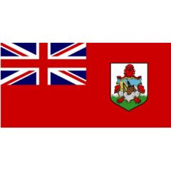 Red Bermuda Flag 30 cm x 45 cm