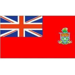 Cayman Islands Flag Red Background 100 cm x 150 cm