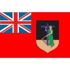 Monserrat Flag 30 cm x 45 cm