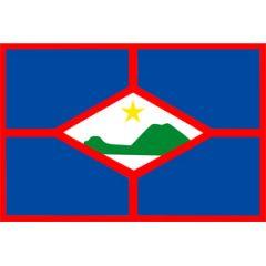 St Eustatius Flag 30 cm x 45 cm