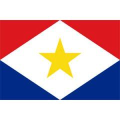 Saba Flag 30 cm x 45 cm