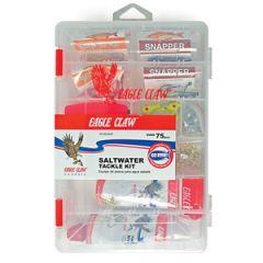 Eagle Claw South Coastal Tackle Kit, 75pc Tackle & Rigs