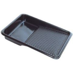 Paint Tray Liner Dimpled Plastic White 9""