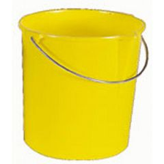 Bucket w/Pour Spout Yellow 12 qt