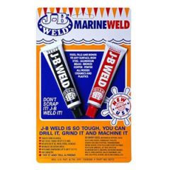MarineWeld Epoxy Compound Two Part Tube 1 oz each