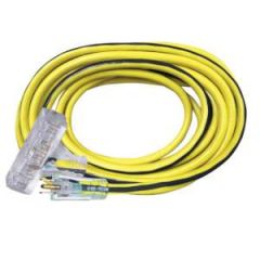 Extension Cord- 12/3 50' w/3 Outlets