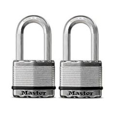 "Magnum 2"" Padlock, w/Boron Carbide Shackle, 2/Pack"