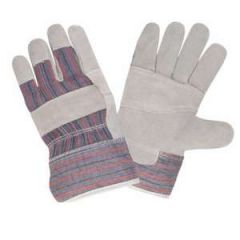 Glove w/Leather Palm Large