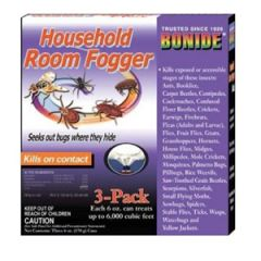 Bonide Room Fogger 3 x 6oz, Water Based
