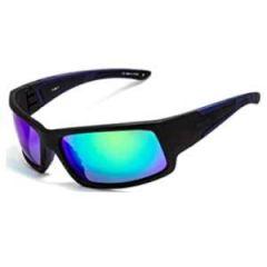 Floats Polarised Sunglasses BlackFrame w/Blue MirrorLens