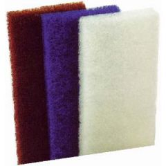 Scrub Pad Coarse Brown 2/pk