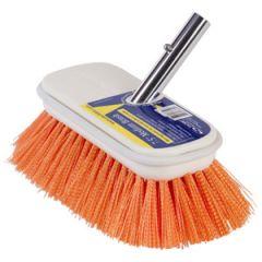 """Deck Brush Medium Orange Bristle 7 1/2"""" (190 mm)"""