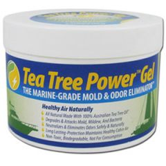 Tea Tree Power Gel Odor Eliminator Tub 4 oz