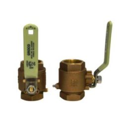 Ball Valve Full Flow In-Line Bronze 2""
