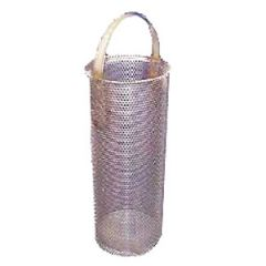 "Water Strainer Filter Basket Monel dia 3"" x 11.6"" Length"