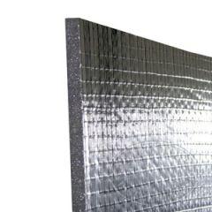 """Insulation Sheet No Barrier Silver 1"""" x 32"""" x 54"""""""