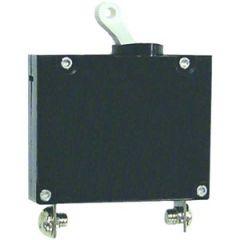 Circuit Breaker A Series Black Toggle Single Pole 50A