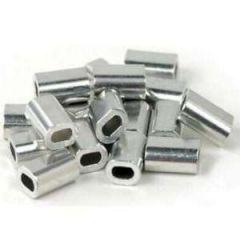 Single Sleeves Aluminium 500 lb Size 2.8 50/pk