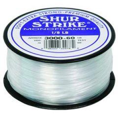 Shur Strike Clear Monofilament 30lb, 1/8lb Spool