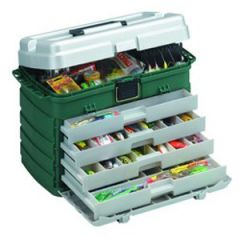 "Plano Four-By-Drawer Tackle Box, 3500sz 11""x7.25""x10"""