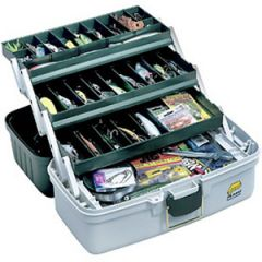 Plano Eco Friendly Tackle Box 3 Tray Grey/Blue