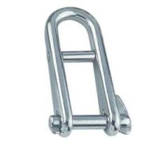 Halyard Key Shackle w/Bar 316 Stainless Steel 8 mm