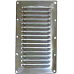 Louvered Vent Stainless Steel 127 mm x 115 mm