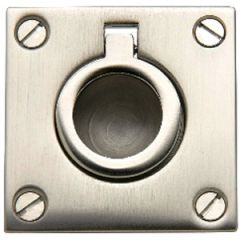Flush Pull Ring 316 Stainless Steel 38 mm x 48 mm
