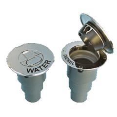 Water Deck Fill w/Key 316 Stainless Steel 38 mm