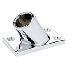 Rectangular Base Tube Fitting 316 Stainless Steel 60 Degree 7/8""