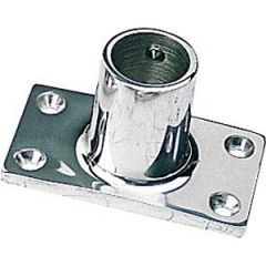 Rectangular Base Tube Fitting 316 Stainless Steel 90 Degree 7/8""