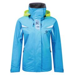"""Wave"" Breathable Jacket, Women's Medium Baltic Blue"