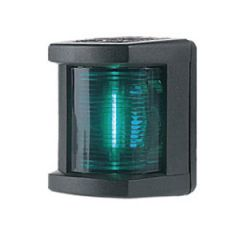 Starboard Navigation Light Series Green Vertical Mount White Housing