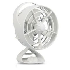 2-Speed, Oscillating Turbo II Fan, White 12V